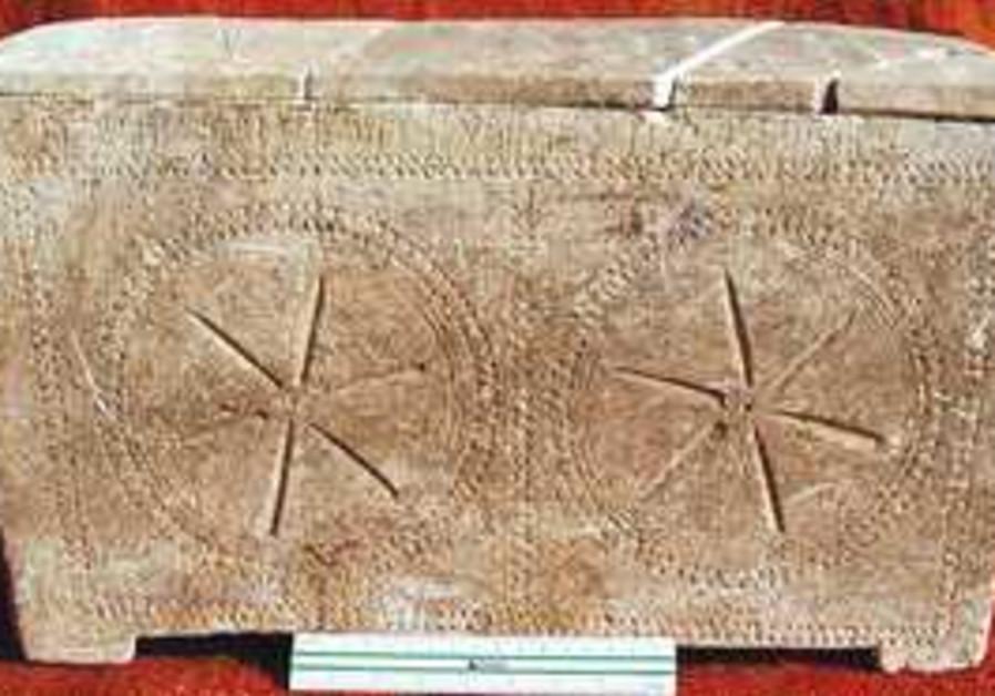2,000 year old ossuary