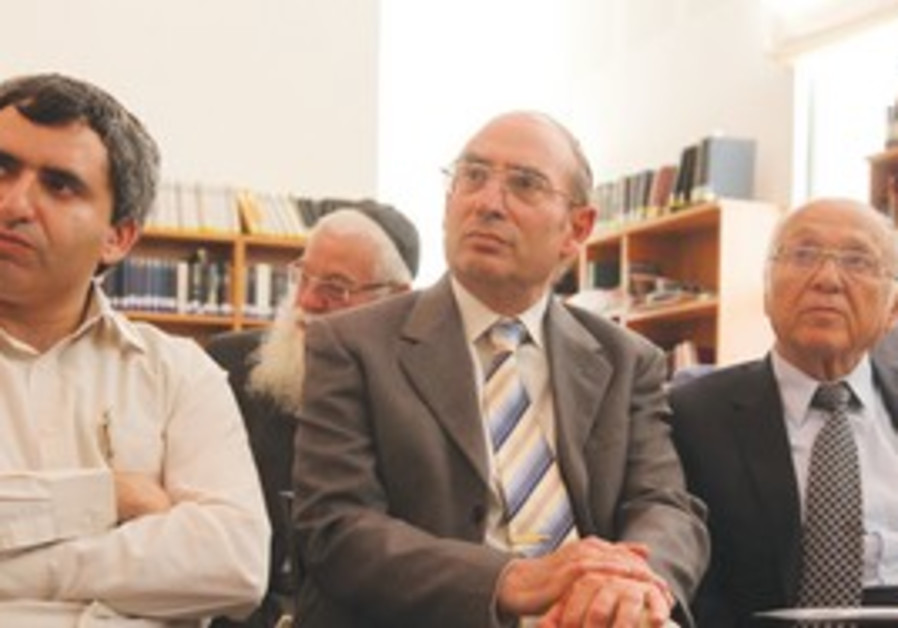 End-of-course event at Beit Morasha