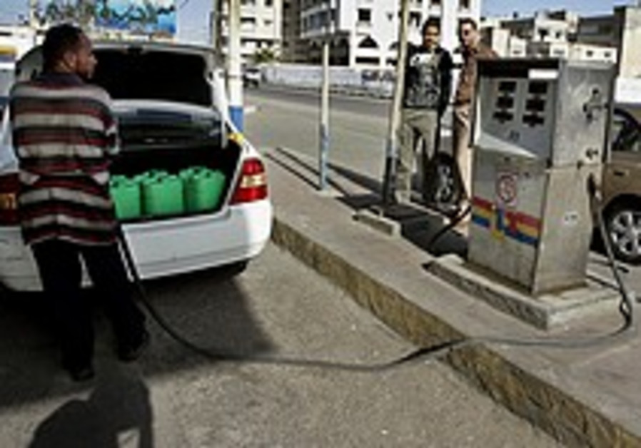 Gaza Strip fuel sanctions reversed