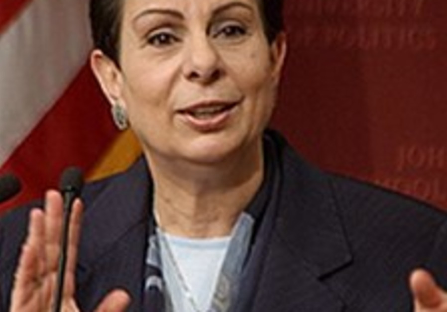 Ashrawi defends Hizbullah and Hamas