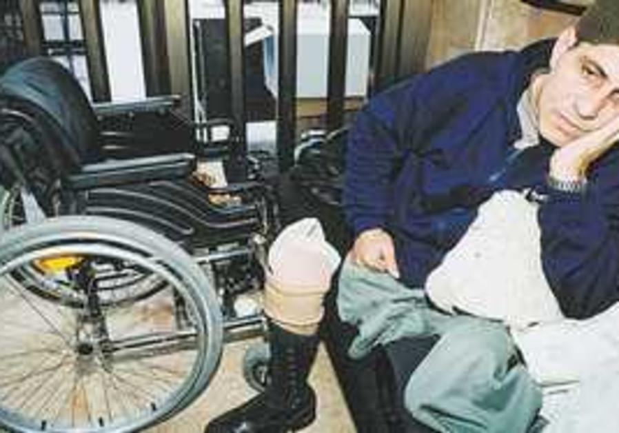 AROUND 293,000 Israelis have serious disabilities