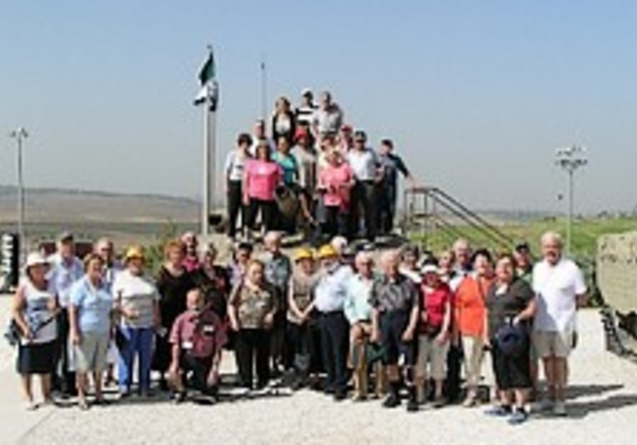 JNF Australia's 'Young-at-Heart' mission 'mind-boggling' visit to Israel