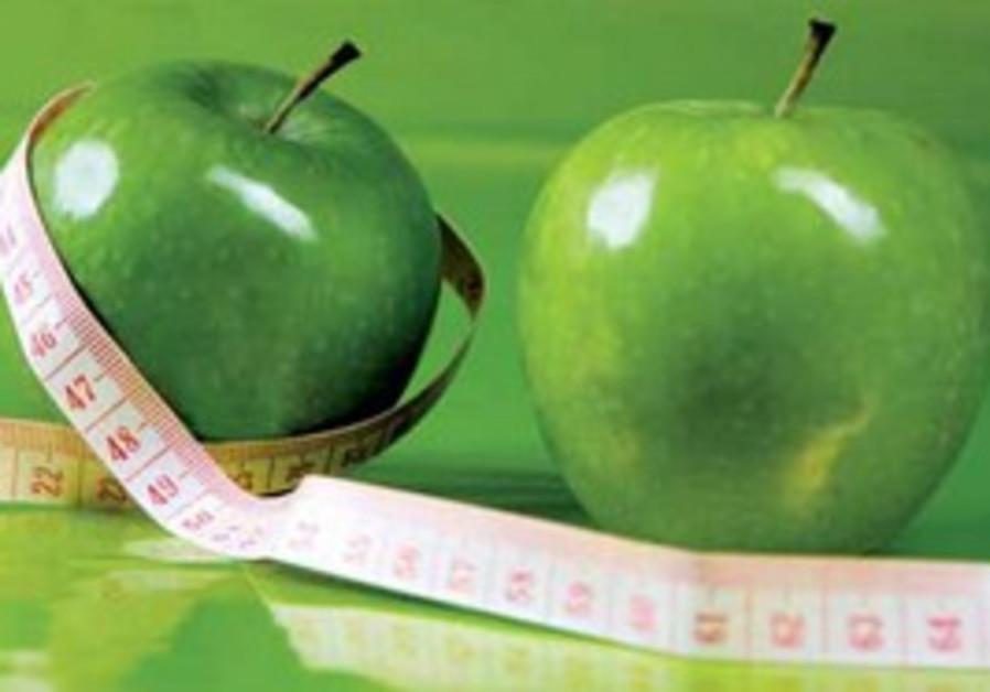 Apples tape measure