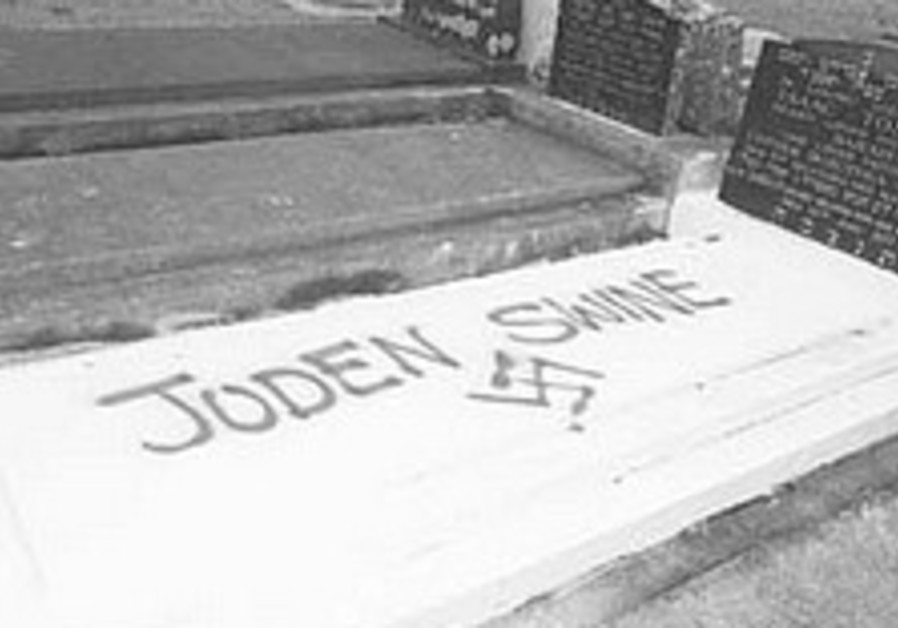 Jewish graves desecrated in New Zealand - again