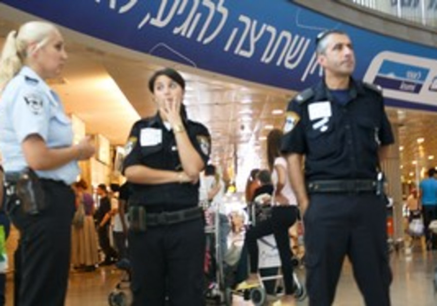 Police at Ben Gurion Airport