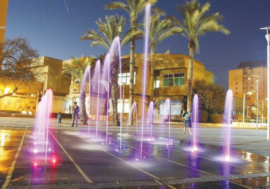 The fountains will use recycled water