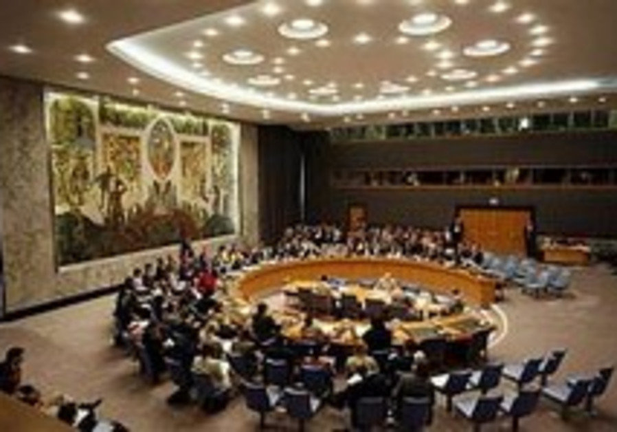 UN Security Council committed to 2-state solution