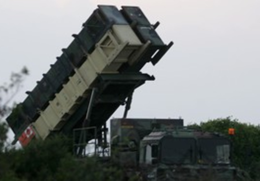 Patriot anti-missile system in Haifa in 2006