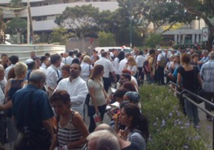 fire Tel Aviv District Court