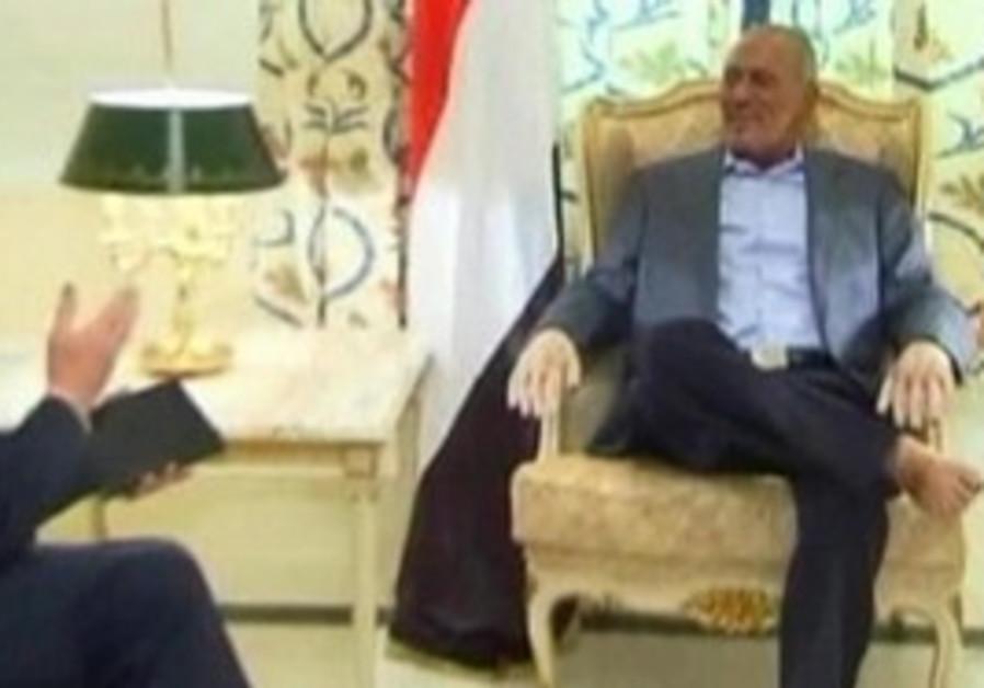 Yemen's President Saleh