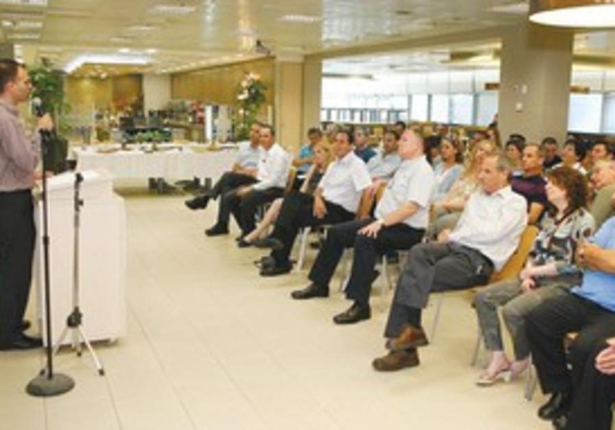 MOTI HAZAN, chairman of the Jerusalem Development