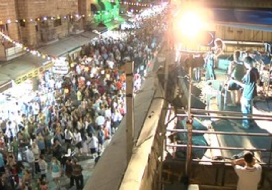 Balabasta festival in Jerusalem