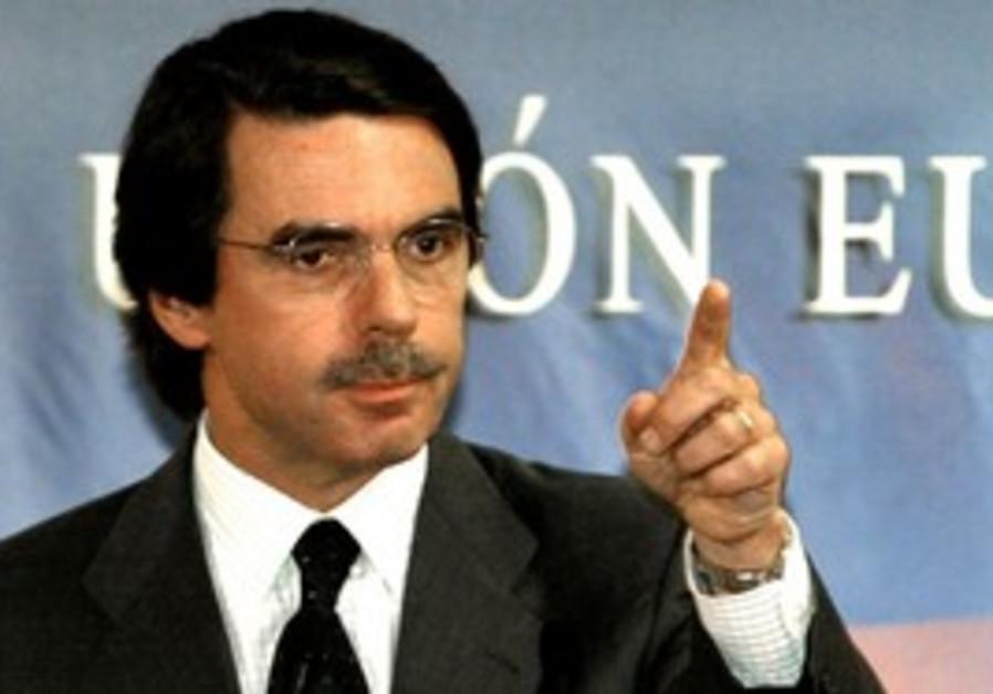 former Spanish PM Jose Maria Aznar