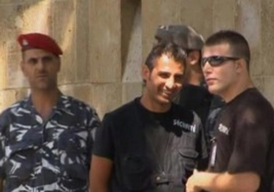 Freed Estonian Hostages