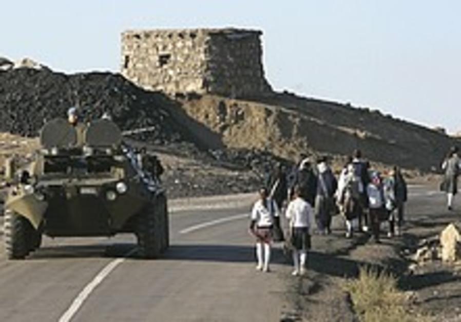 Turkish army fires on Kurdish rebels inside Iraq