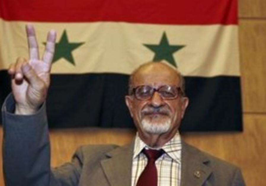 Leading Syrian opposition figure Haitham al-Maleh