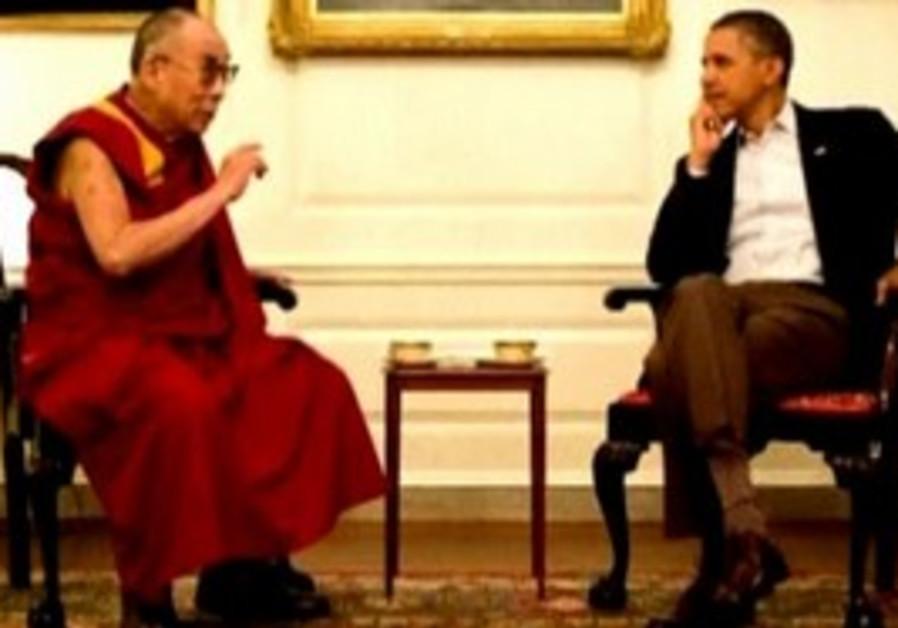 Dalai Lama and Barack Obama