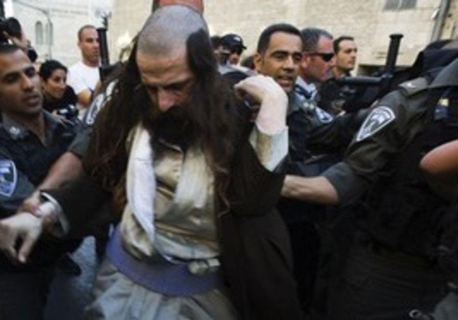 Haredim riot in Jerusalem