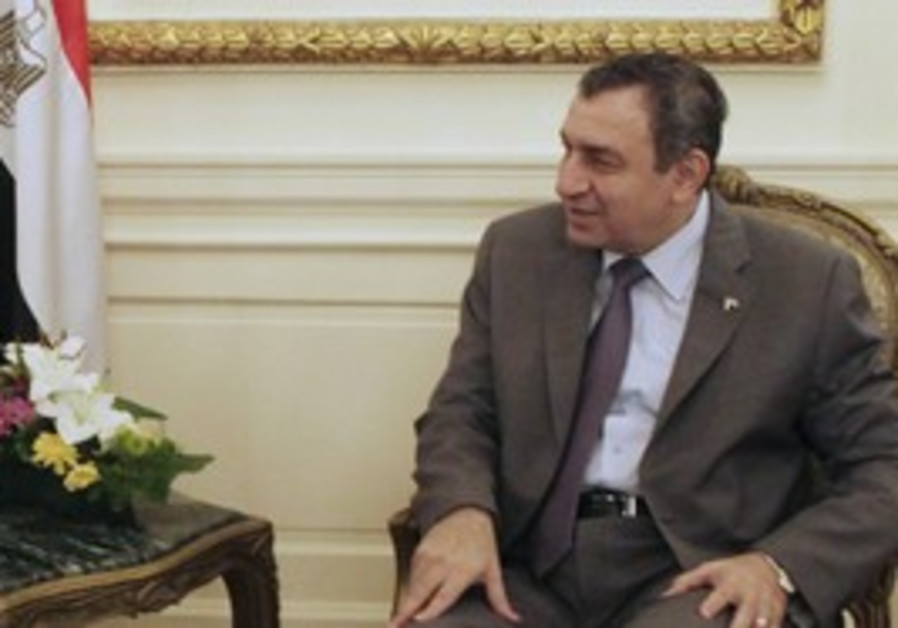 Egyptian PM Essam Sharaf