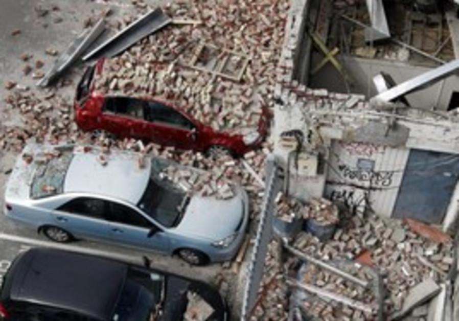 New Zealand Christchurch earthquake