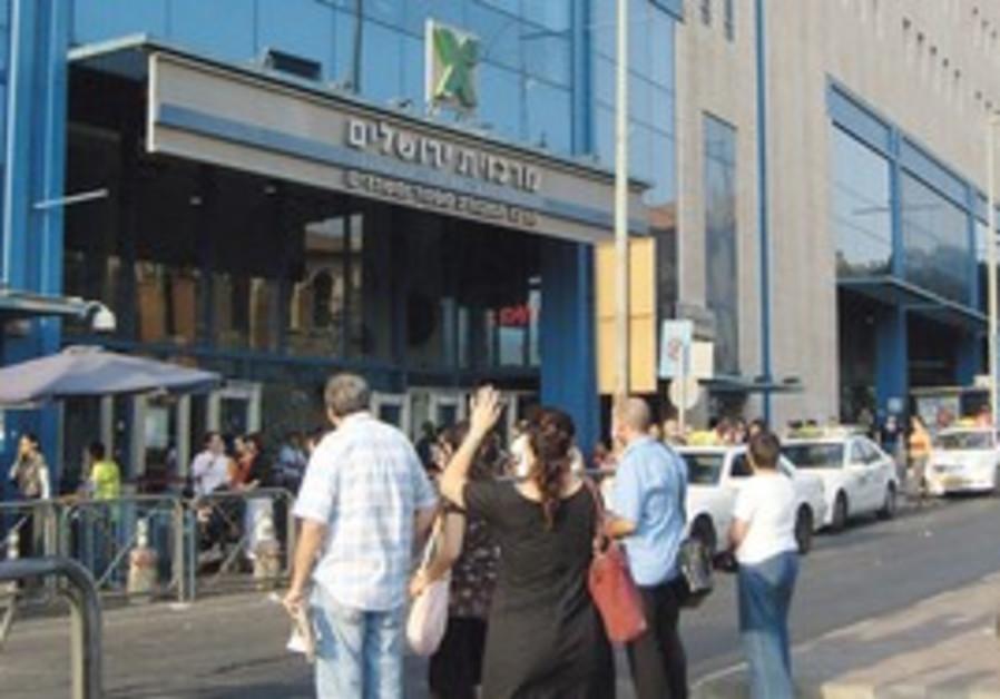 Jerusalem's Central Bus Station