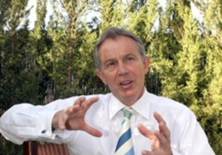 Blair: Israel needs psychological shift