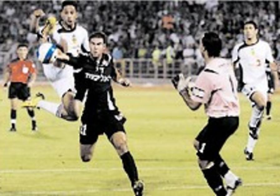 Soccer: Haifa held by Betar in tense 0-0 draw