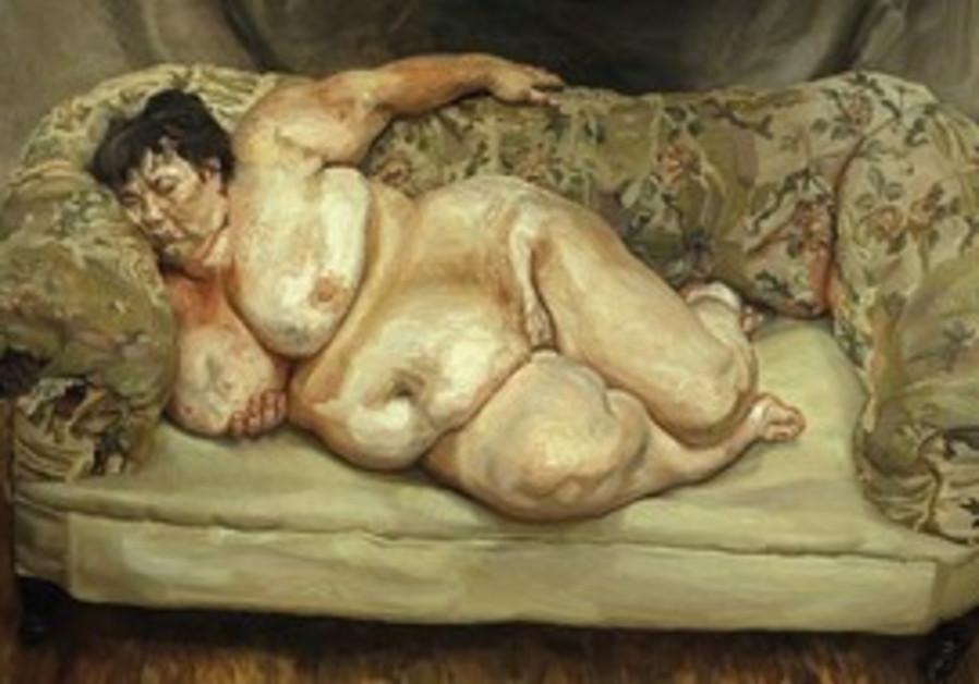 Freud's large canvas Benefits Supervisor Sleeping