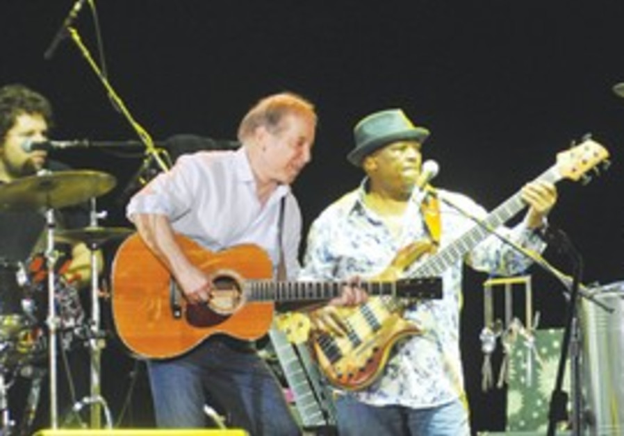 PAUL SIMON and Vincent Nguini rock Ramat Gan