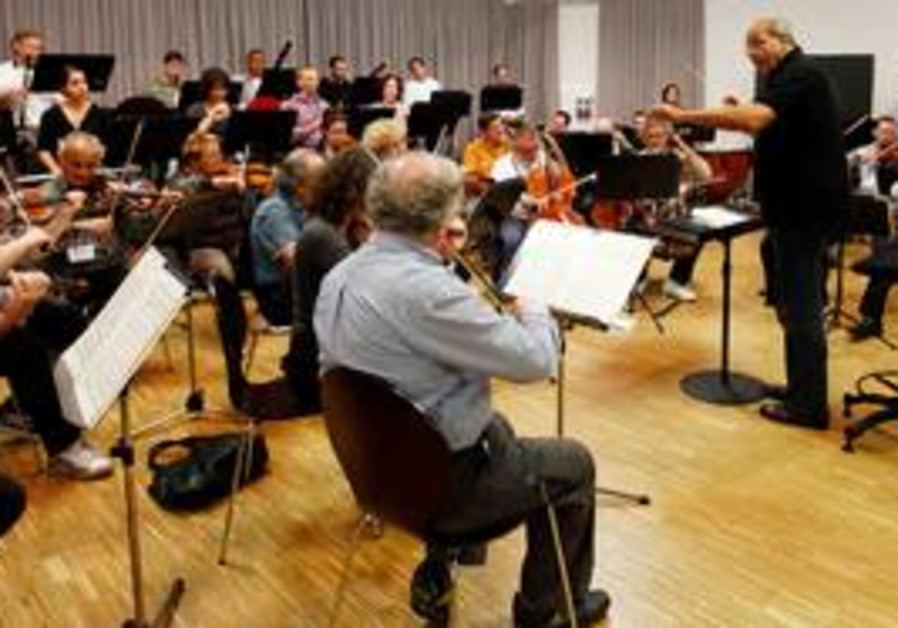 Roberto Paternostro conducts Israel Chamber Orches