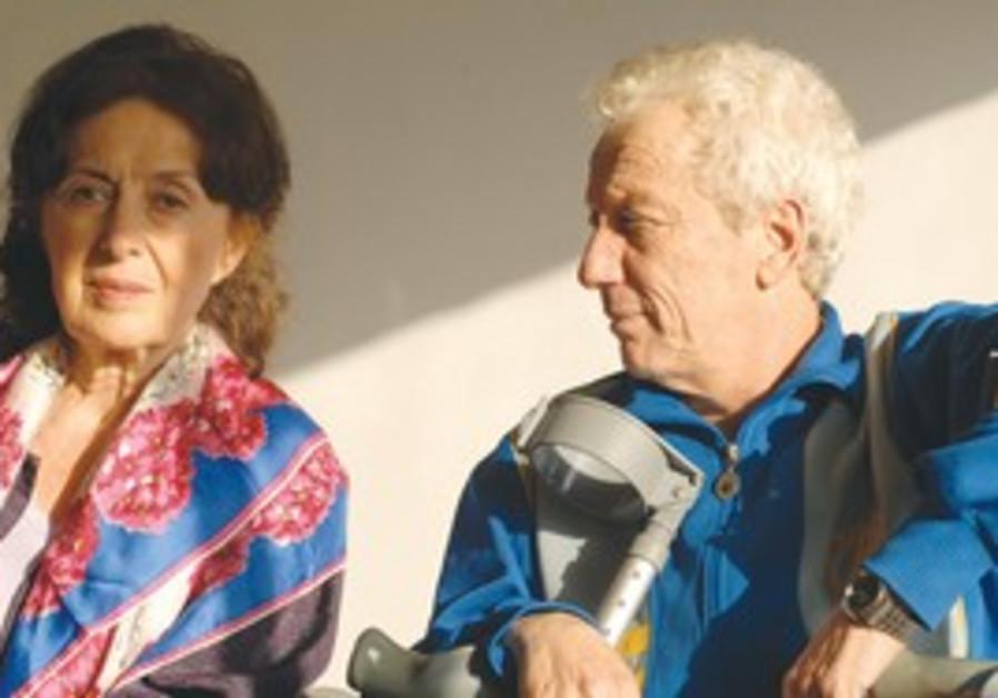 Rita Zohar and Moni Moshonov