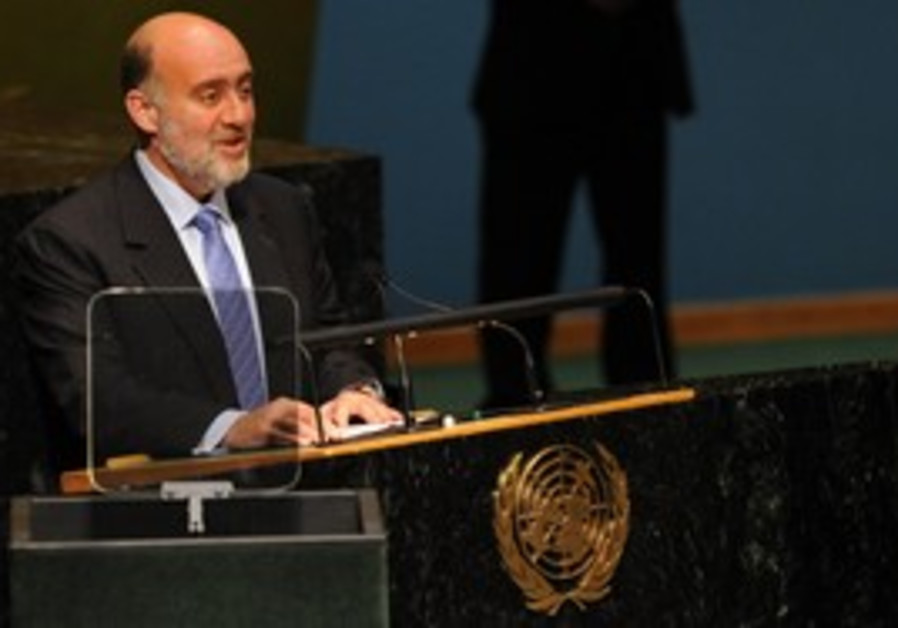 Israeli ambassador to the UN Ron Prosor