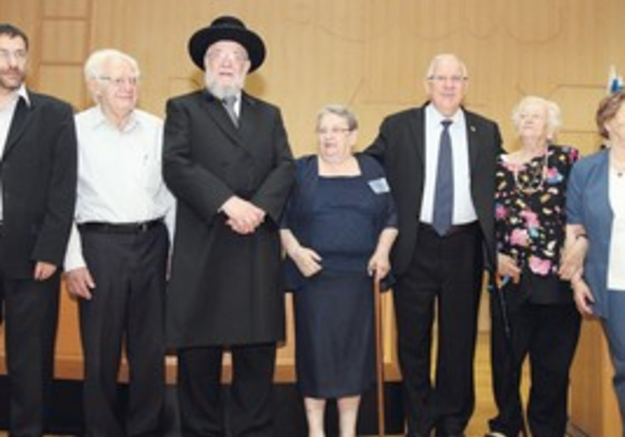 Warsaw Ghetto fighters honored at Knesset