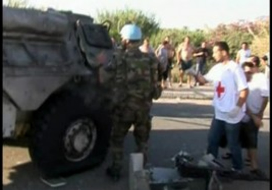 UNIFIL injured in Lebanon bombing