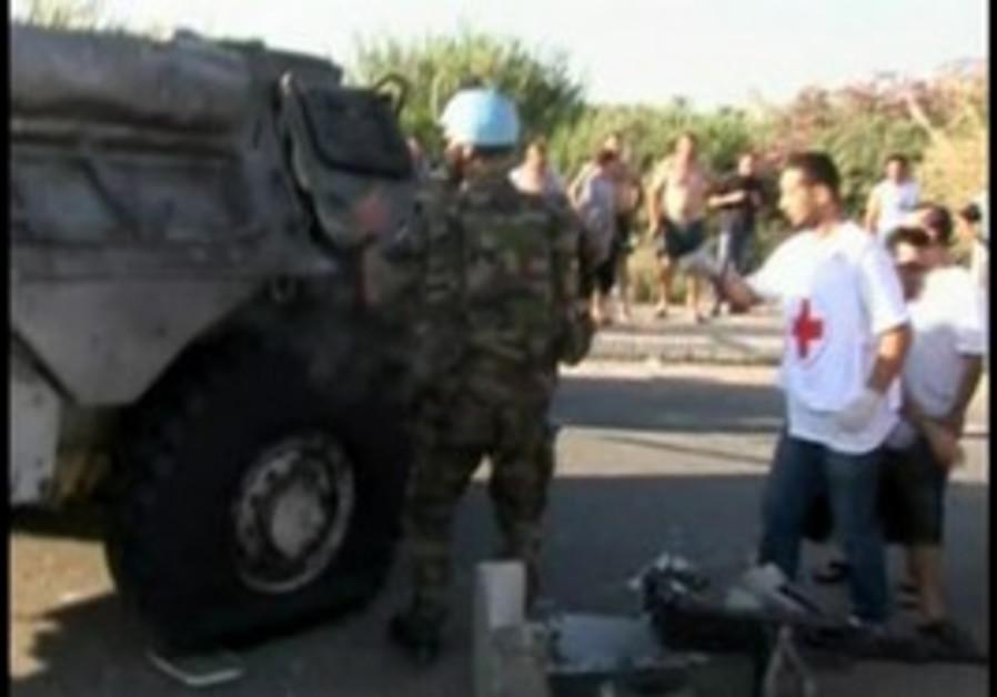 UNIFIL injured in Lebanon bombing