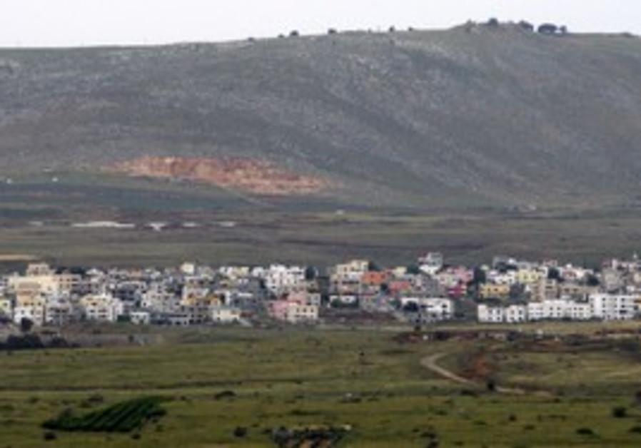 Israel Lebanon border town Ghajar