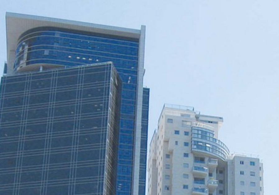 Ramat Gan's high-rises have great views.