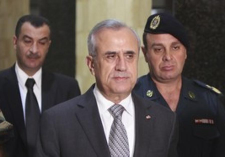 Lebanese prez Michel Suleiman