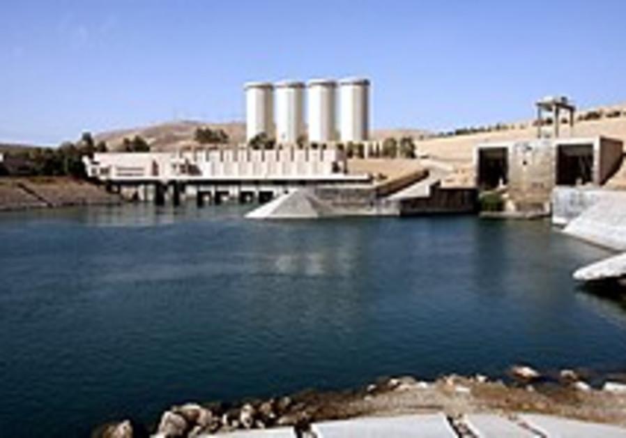 Saddam's damn dam