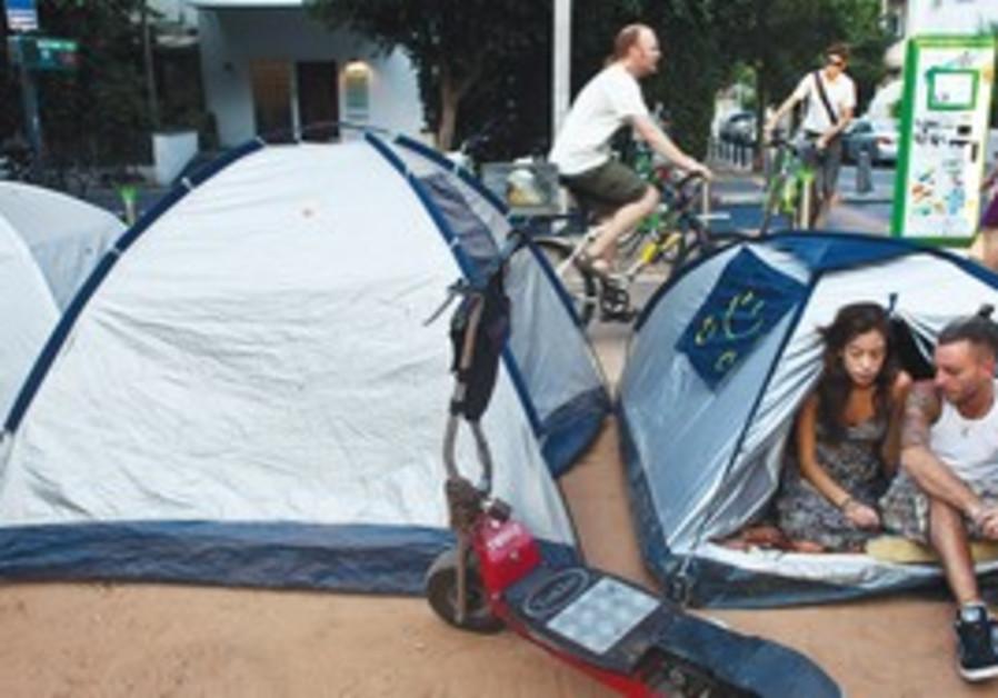 Tel Aviv housing tent protesters
