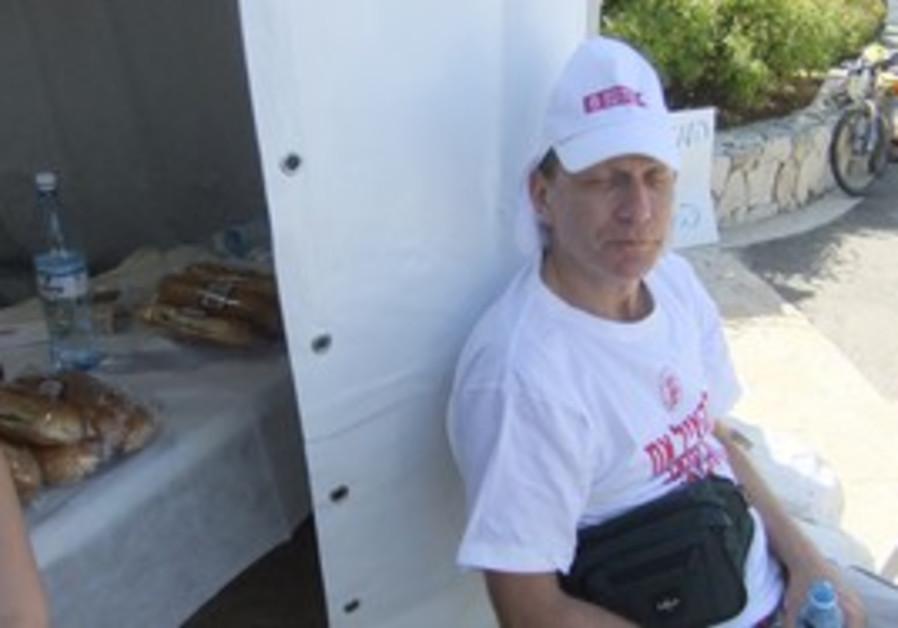 IMA chief Leonid Eidelman in hunger strike