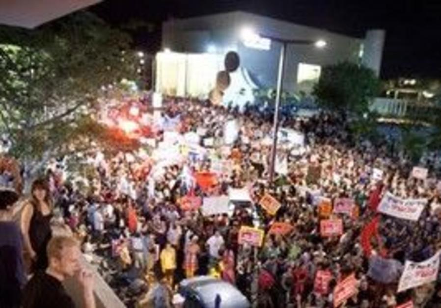 Housing protest in Tel Aviv