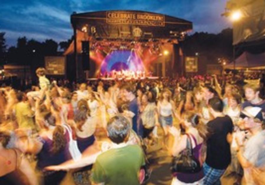 Concert in Prospect Park.