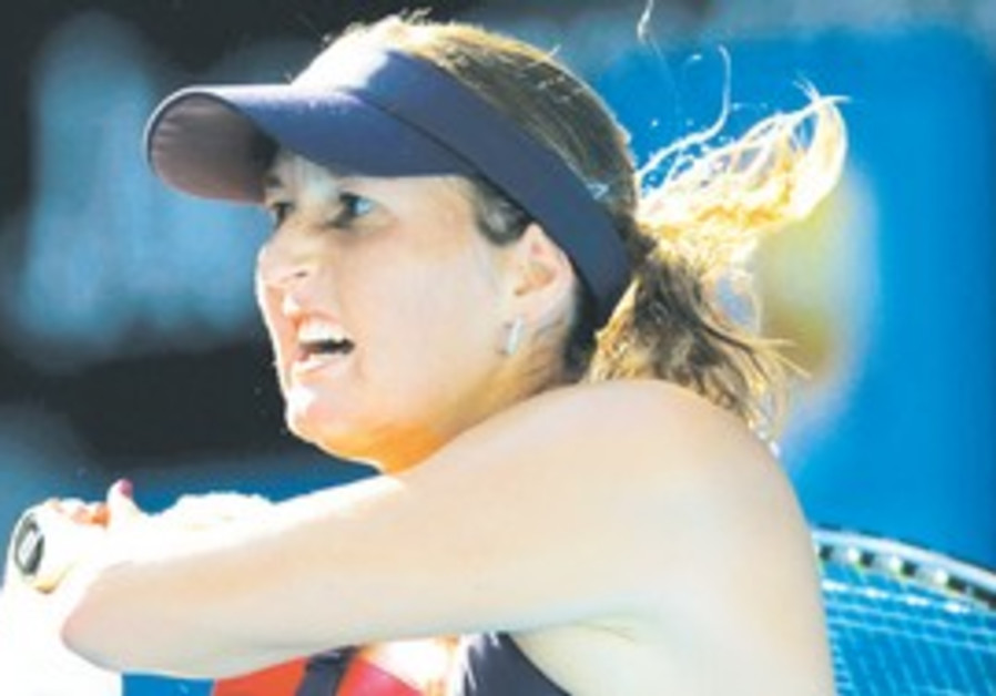 Israeli tennis player Shahar Pe'er.