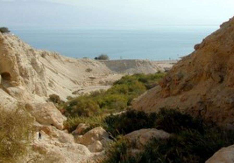 Hiking in Ein Gedi