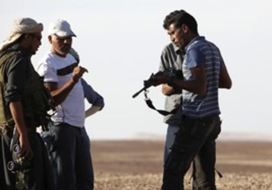 Armed Sinai Bedouin
