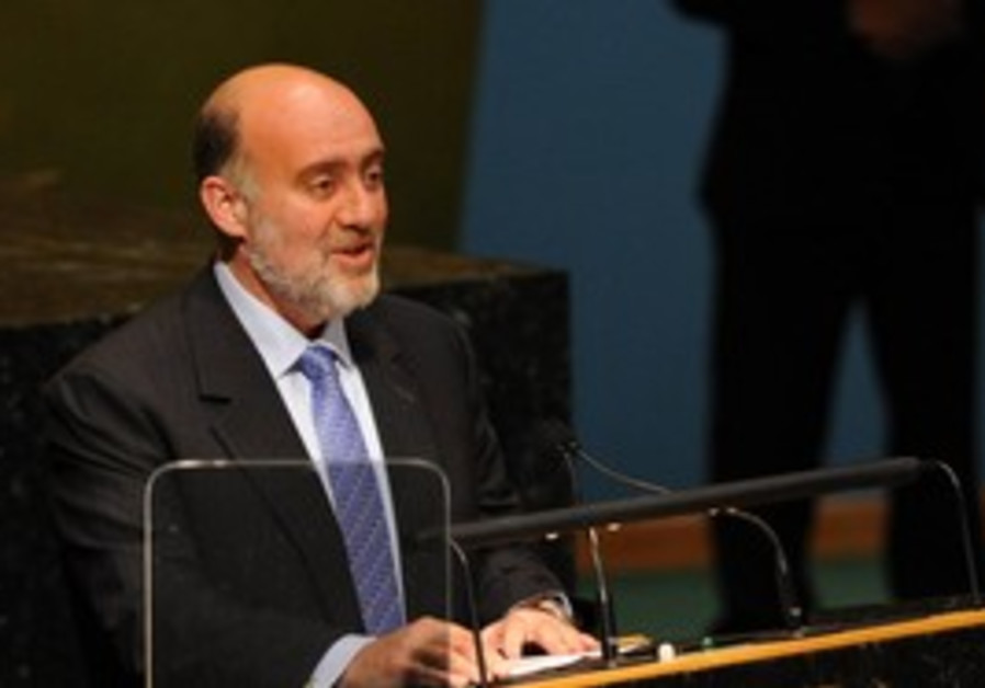 Ambassador to the United Nations Ron Prosor