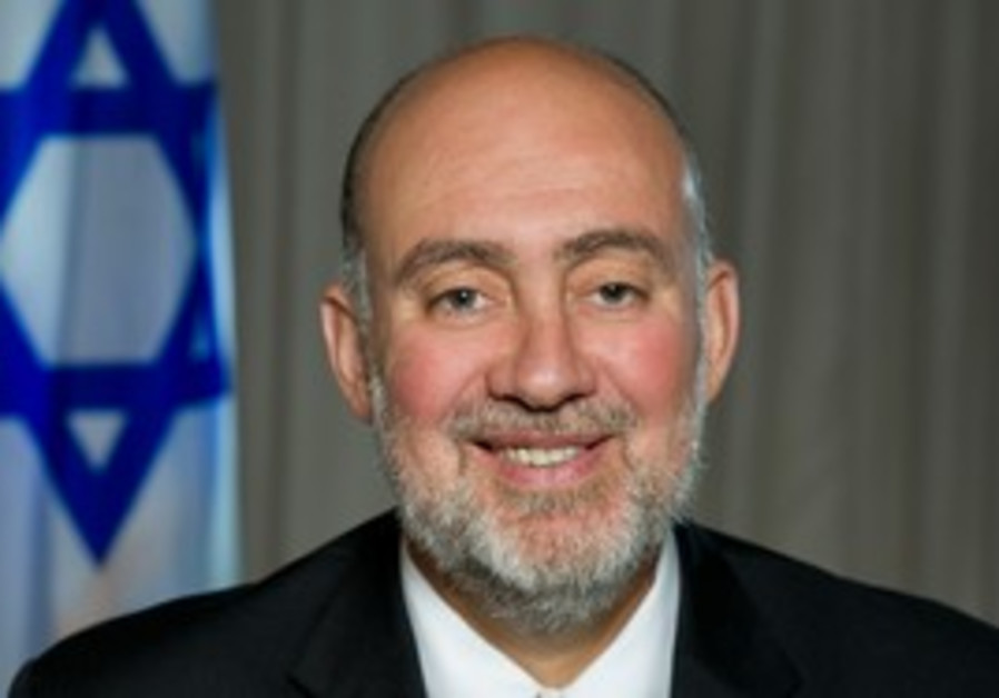 Ambassador to the United Nations Ron Prosor