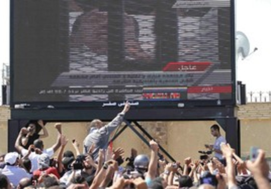 Mubarak trial televised in Egypt
