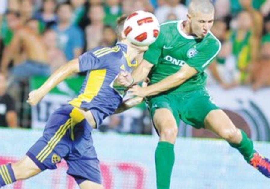 Idan Vered scored Maccabi Haifa's lone goal Weds.